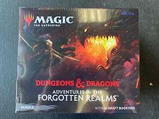 MTG MAGIC THE GATHERING D&D FORGOTTEN REALMS FACTORY SEALED BUNDLE BOX