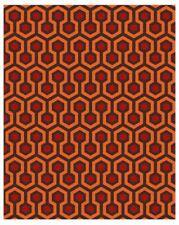 OVERLOOK Pattern Floor Mat / Runner, Custom Shining Hotel Haunted House Carpet
