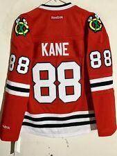 Reebok Women's Premier NHL Jersey Chicago Blackhawks Kane Red sz M