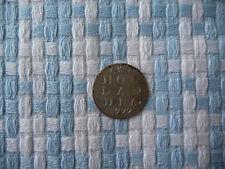Holland 2 Stuivers 1777 Silber.