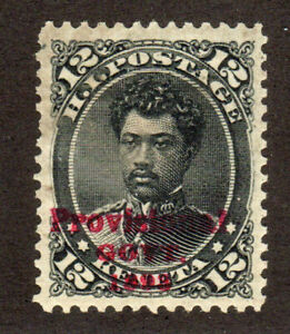 1893 US Possessions Hawaii SC 62 Provisional Government, Prince Leleiohoku MLH