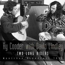 RY COODER & DAVID LINDLEY New Sealed 2020 UNRELEASED 1990 LIVE CONCERT CD