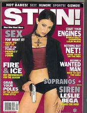 LESLIE BEGA SOPRANOS Stun Magazine 12/02 JILLIAN BARBERIE