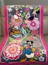 "Vera Bradley Disney beach towel in Mickey and Friends NWOT 33"" x 66"""