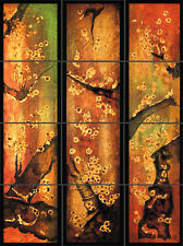 "Asian Panels Artistic Ceramic Tile Mural Decorative Backsplash 18""x24"" Awesome!"