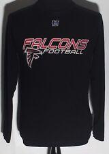 Atlanta Falcons ATL NFL Football Team Logo NFC Medium Black Long Sleeve T-shirt