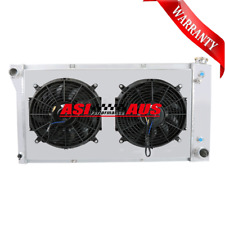 3Row 1967-72 Radiator+Shroud+Fan For Chevy C/K Series C10/C20/K10/K20 AT/MT AUTO