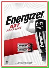 2 ENERGIZER A27 Batterie Pile MN27 LR27A G27A L828 CA22 EL812 V27A cancello auto
