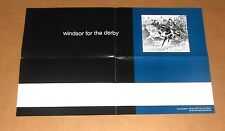 Windsor For the Derby Poster Original Promo 20x13 Jesus Lizard Shellac