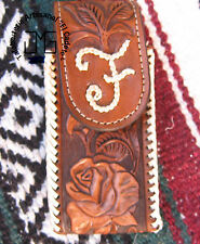 LEATHER WESTERN CELL PHONE HOLSTERS HAND MADE