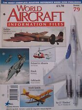 World Aircraft Information Files No 79 British Aerospace Hawk cutaway & poster