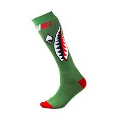 New Adult O'Neal Pro MX Socks Bomber Green MX Enduro One Adult Size
