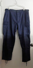 ROTHCO Poly/Cotton Twill BDU Cargo Pants Button Fly Navy Blue 3XL REG NEW