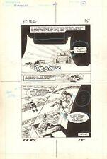 Flash Force 2000 #2 p.15 - Victory End Pg - Matchbox Car 1983 art by Sal Trapani Comic Art