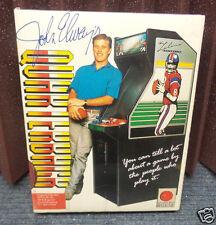 Apple IIe, IIc JOHN ELWAY Football Vintage Software by Melbourne House