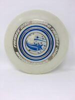 Wham-o Moonlighter 1975 Glow In The Dark Frisbee Flying Disc Shooting Star