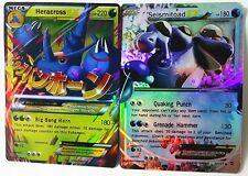 Pokemon TCG 60 Card All EX 47pcs Basic & 13pcs MEGA Charizard Venusaur Blastois