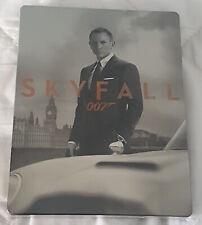 BLU RAY 007 SKYFALL STEELBOOK ITALIA RARA FUORI CATALOGO 1° STAMPA SIGILLATA