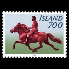 Iceland 1982 - Icelandic Pony with Rider Horse Fauna - Sc 560 MNH