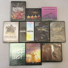 James MacDonald DVD/CD Lot of 10 Much More Family Matters Never Thirsty Wise Up