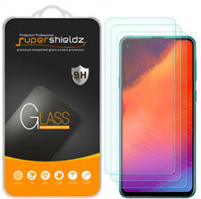 3-Pack Supershieldz Tempered Glass Screen Protector Saver for Samsung Galaxy A8s