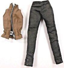Barbie Fashion Collector Black Label Brown Zip Vest & Pants Tris Insurgent 2014