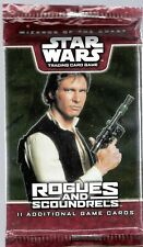 WOTC Star Wars TCG -  Rogues & Scoundrels Booster factory fresh x1