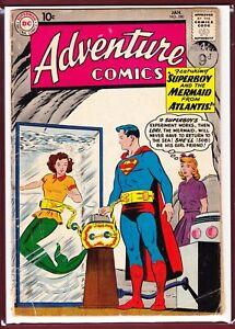 DC_ADVENTURE COMICS # 280_VG_(1961)_1ST MEETING OF SUPERBOY AND LORI LEMARIS..