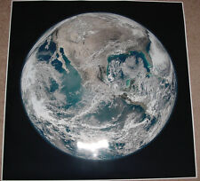 PLANET EARTH FROM SPACE POSTER 36x36 BIG HI RES