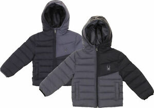Spyder Little Boys Ace Short Puffer Jacket, Color Options