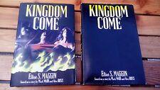 KINGDOM COME romanzo lingua inglese novel firmato signed Alex Ross Maggin Waid