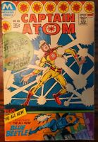 Captain Atom #83 1st Ted Kord BLUE BEETLE Ships for Free!