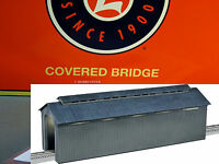 LIONEL LIGHTED RURAL COVERED BRIDGE O GAUGE train tunnel overpass 6-24117 NEW