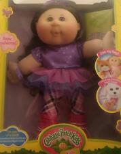"Cabbage Patch Kids 14"" Collectible Doll ""Modern"" Brown Hair Brown Eyes w/TuTu"