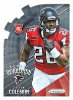 2015 Panini Prizm ROOKIE REVOLUTION DIE CUT #RR11 TEVIN COLEMAN RC Falcons