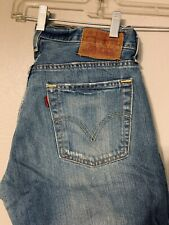 Levis 527 Low Boot Cut Mens Jeans 30x32 Distressed
