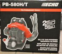 ECHO GAS POWERED BACKPACK BLOWER -PB-580H/T