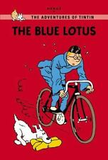 The Blue Lotus (The Adventures of Tintin: Young Readers Edition)-ExLibrary
