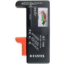 D-FantiX Battery Tester, Universal Checker For Aa Aaa 9V 1.5V Button Cell (Model