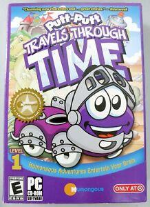 Putt-Putt Travels Through Time - Windows/PC Computer Software/Game - CD-ROM