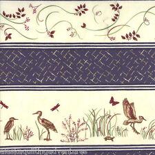 "MODA Fabric Quilt Panel ~ ENCHANTED POND ~ by Holly Taylor 24/"" X 44/"" Dark Cream"
