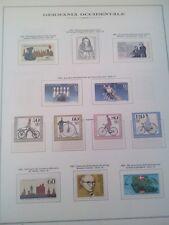 GERMANIA 2 - COLLEZIONE COMPLETA NUOVA MONTATA SU MARINI DAL 1980-92