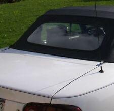 1989-1997 Mazda Miata Convertible Top w/ glass window & Rainrail - Black - New!