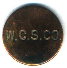 WEST CAICOS SISAL COMPANY STORE TOKEN THREE ( 3 ) PENCE 2.5 CMS PRE WORLD WAR I