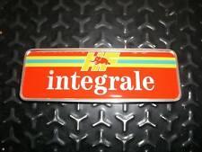 Emblem Badge Heckklappe Trunk Lancia Delta Integrale Evo Final Edition
