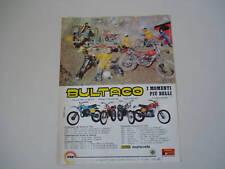 advertising Pubblicità 1978 BULTACO ALPINA/FRONTERA