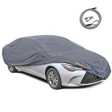 Motor Trend TrueShield Genuine 6-Layer All-Weather Car Cover Size L
