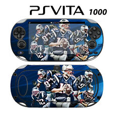 Sony PS Vita PSV 1000 Skin Decal Sticker Vinyl Wrap Tom Brady New Patriots