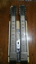Vintage National Grand Console steel guitar double 8 1950's rare!!!