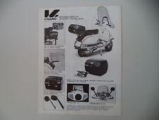 advertising Pubblicità 1984 VIGANO' e VESPA